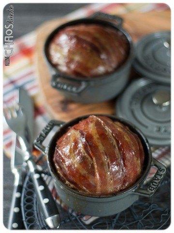 Rezept Bacon Bomb mit Breznknödel-Füllung