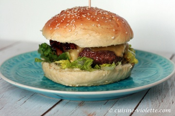 Rezept Bacon-Cheeseburger