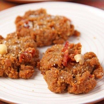 Rezept Bacon-Erdnuss-Cookies