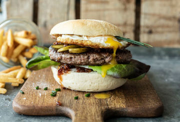 Rezept Bacon Jam Burger