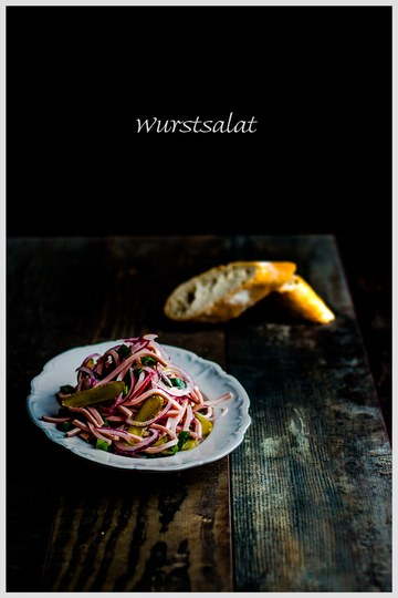 Rezept Badischer Wurstsalat