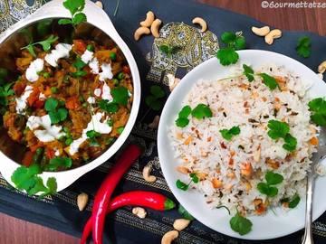 Rezept Baingan Bharta - ein indisches Auberginengericht