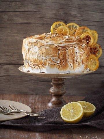 Rezept Baiser-Törtchen mit Zitrone und Mango