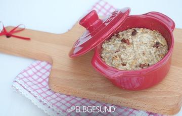 Rezept Baked Oatmeal zum Frühstück