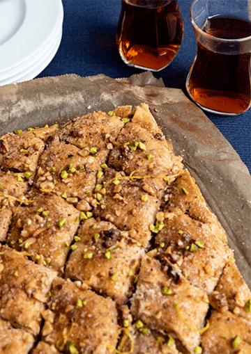 Rezept Baklava mit Walnüssen – Süße Verführung