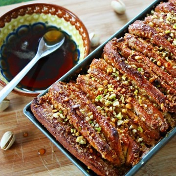 Rezept Baklava Pull Apart Bread
