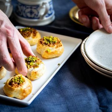 Rezept Baklava Schnecken: Das schnellste Baklava aller Zeiten