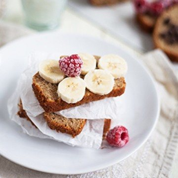 Rezept banana bread – Theo backt Bananenbrot