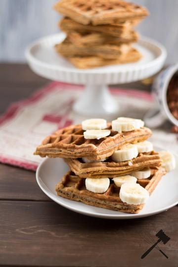 Rezept Banana Bread Waffles