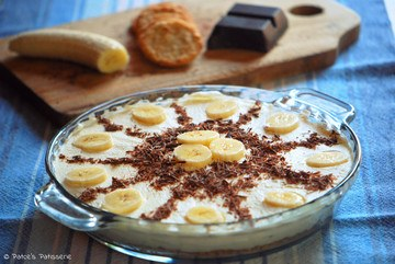 Rezept  Banana Cream Pie