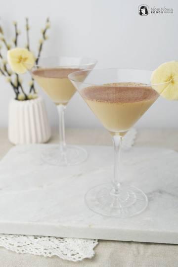 Rezept Banane und Toffee: Banoffee Martini Cocktail