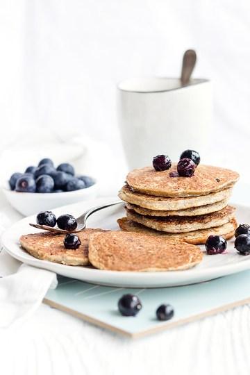 Rezept Bananen-Chia-Pancakes