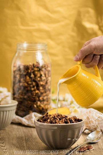 Rezept Bananen-Granola