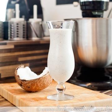 Rezept Bananen-Kokos-Shake mit Zitronennote