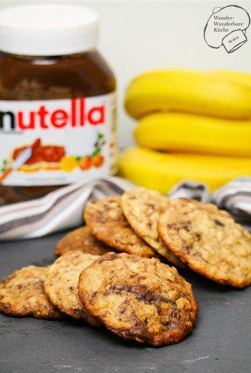 Rezept Bananen-Nutella-Cookies