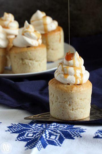 Rezept Bananen Toffee Cupcakes