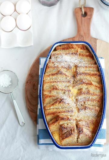 Rezept Bananenbrot French Toast Auflauf