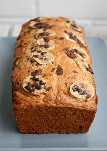 Rezept Bananenbrot mit Schokolade und Walnüssen