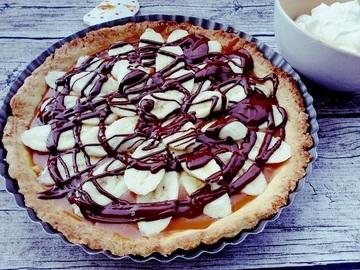 Rezept Banoffee Pie – eine Leckerei mit Bananen, Toffee und Schokolade
