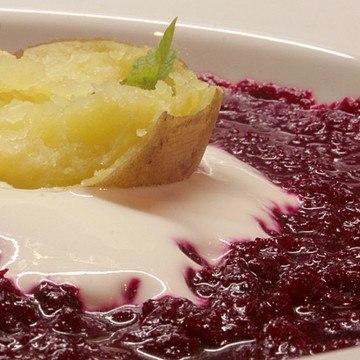 Rezept Barbabietola e patate