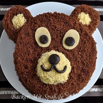 Rezept Bären- Torte