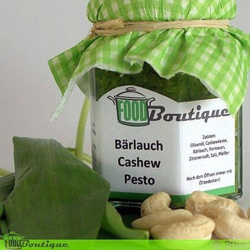 Rezept Bärlauch-Cashew-Pesto