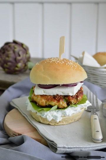 Rezept Bärlauch Fisch Burger