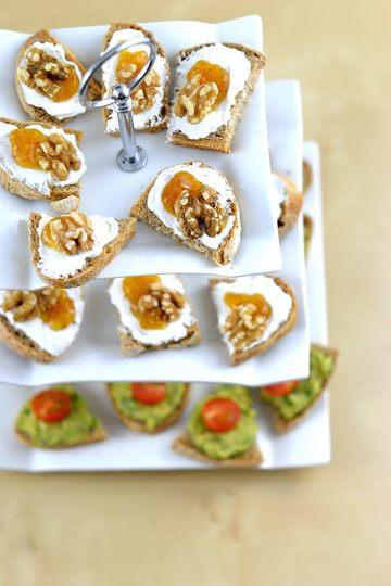 Rezept Bärlauch-Guacomole und eine weitere Schnittchen-Idee