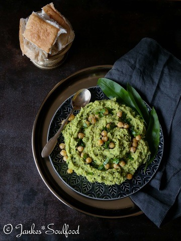 Rezept Bärlauch-Hummus