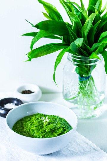 Rezept Bärlauch-Pistazien-Pesto