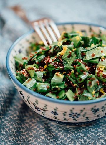 Rezept Bärlauch Quinoa Salat