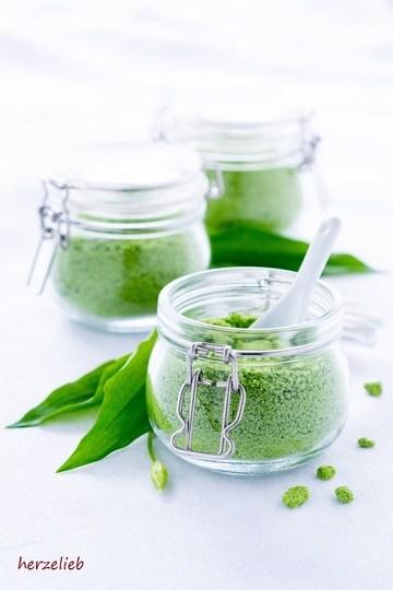 Rezept Bärlauch-Salz