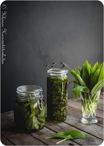 Rezept Bärlauchöl und & Bärlauchessig