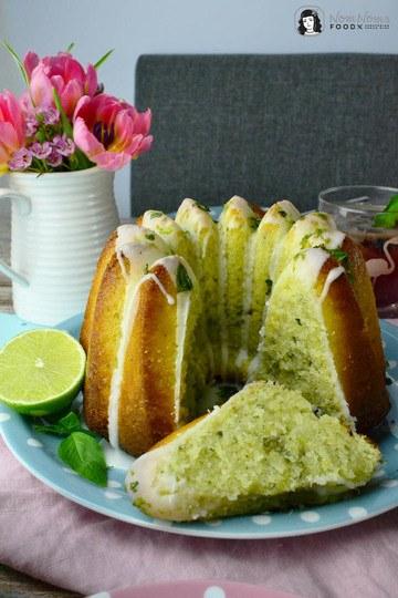 Rezept Basilikum-Limetten-Kuchen, Blaubeer-Basilikum-Limonade und Orangen-Ingwer-Marmelade