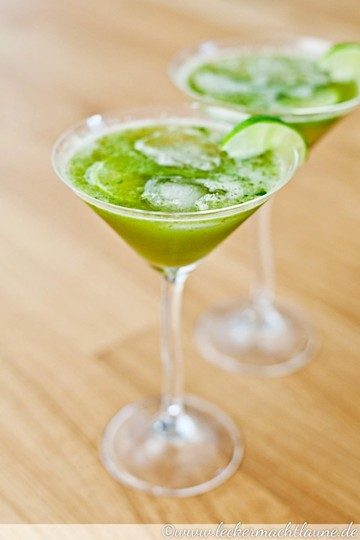 Rezept Basilikum-Limetten-Limonade