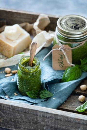 Rezept Basilikum-Nuss-Pesto