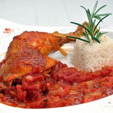 Rezept Baskisches Huhn