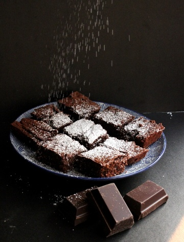Rezept Basler Schoggitorf - Swiss Brownies