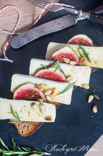 Rezept Bauernröstbrot mit Camembert und Feigen