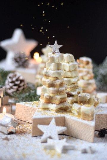 Rezept Baumkuchen mit weißer Schokolade