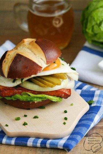Rezept Bayerischer Burger