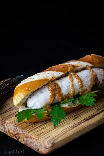 Rezept Bayerischer Hot Dog - Weißwurst to go