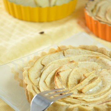 Rezept Bayrische Apfeltörtchen