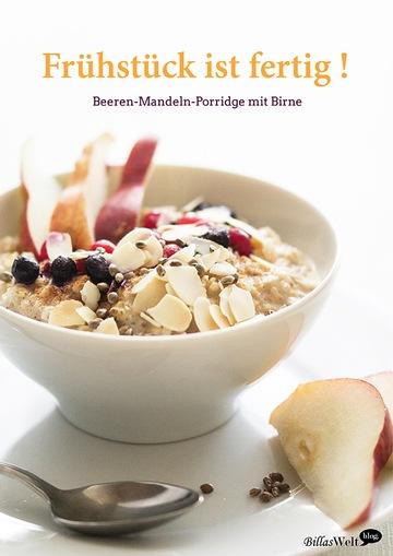 Rezept Beeren-Mandel-Porridge