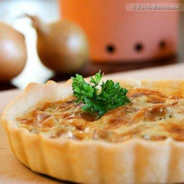 Rezept Bergkäse-Tartelettes mit weißen Champignons