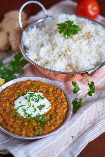 Rezept Berglinsen Curry