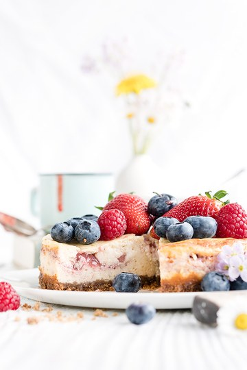 Rezept Berry-Cheesecake