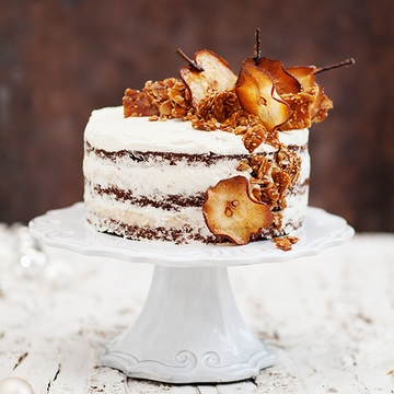 Rezept Beschwipste Birnen Kokos Torte