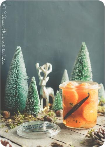 Rezept Beschwipste Mandarinen mit Vanille und Kardamom
