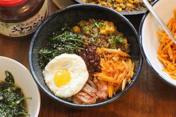 Rezept Bibimbap – Korean Mixed Rice Bowl